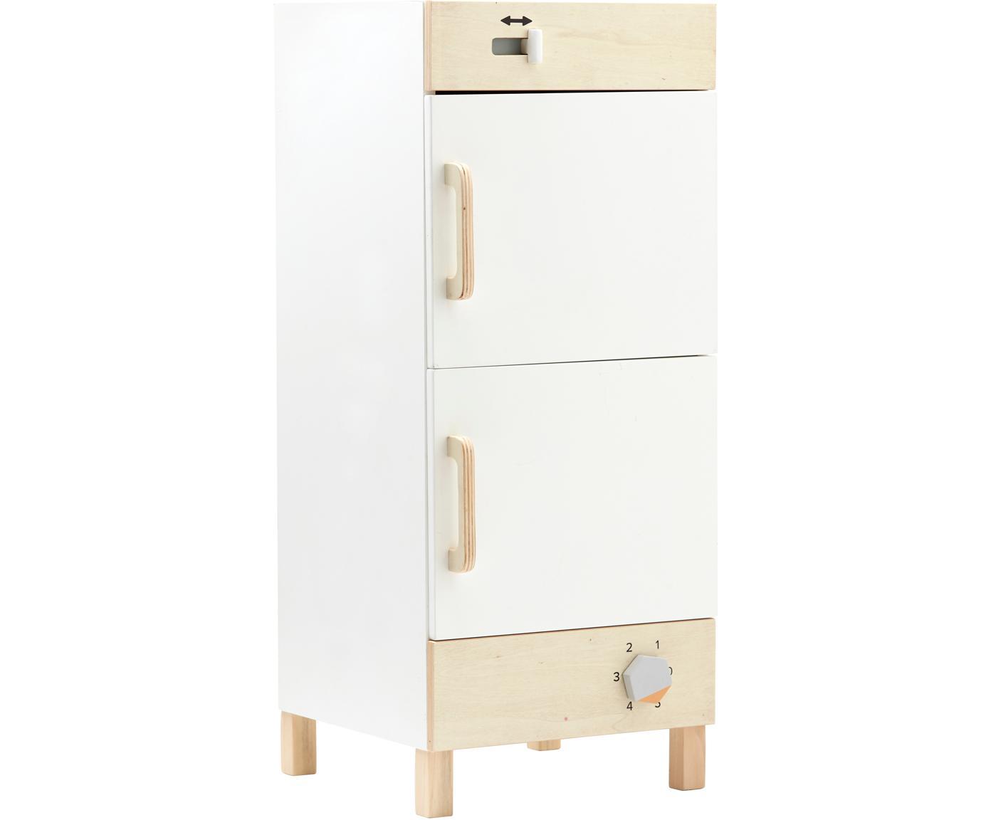 Spielzeug-Kühlschrank, Holz, Weiss, Holz, 30 x 73 cm