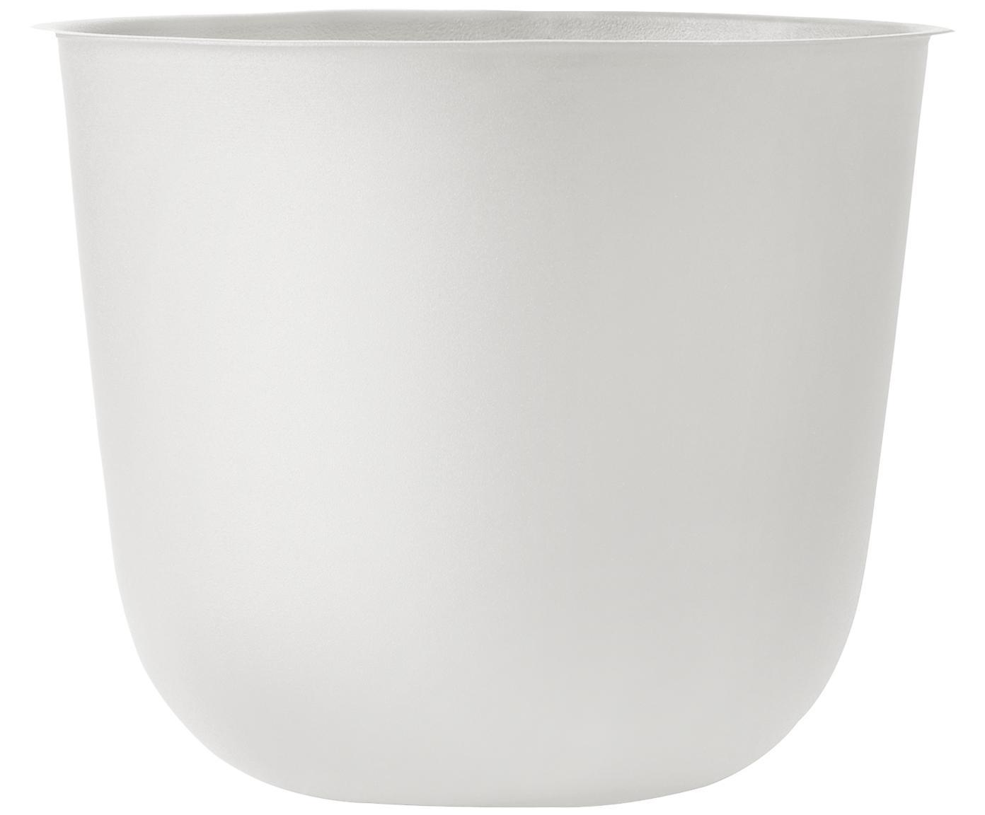 Portavaso Wire Pot, Acciaio, verniciato a polvere, Bianco, Ø 23 x Alt. 17 cm