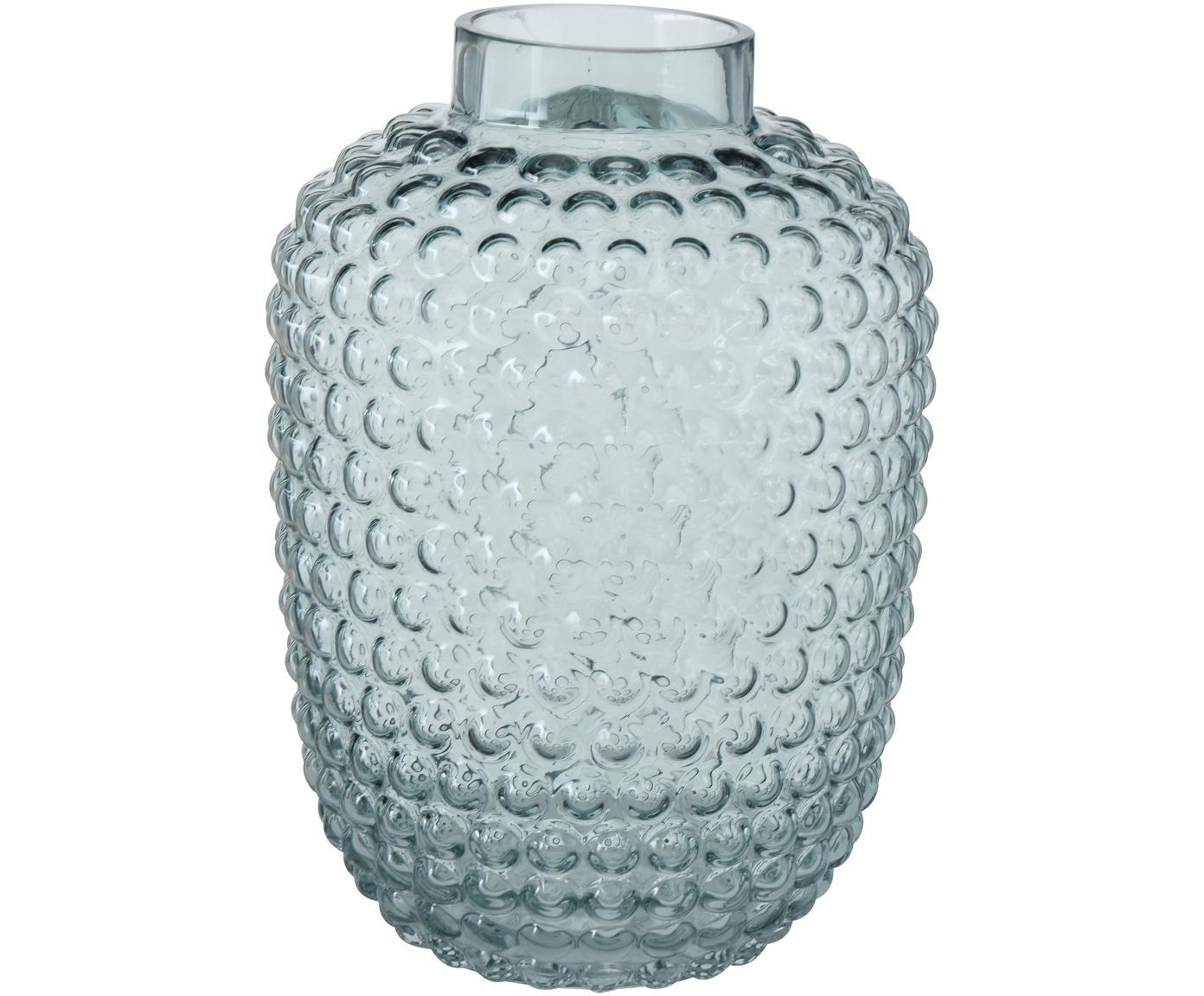 Glazen vaas Aubry, Glas, Groen, Ø 18 x H 25 cm