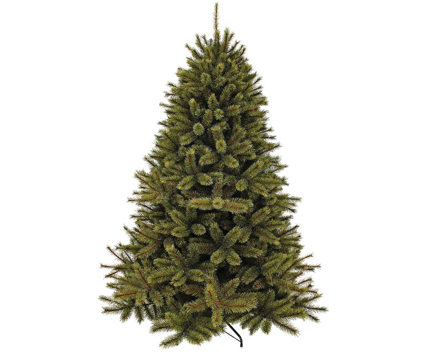 Árbol de Navidad Pine, Agujas: plástico (PVC), Verde, Ø 119 x Al 155 cm