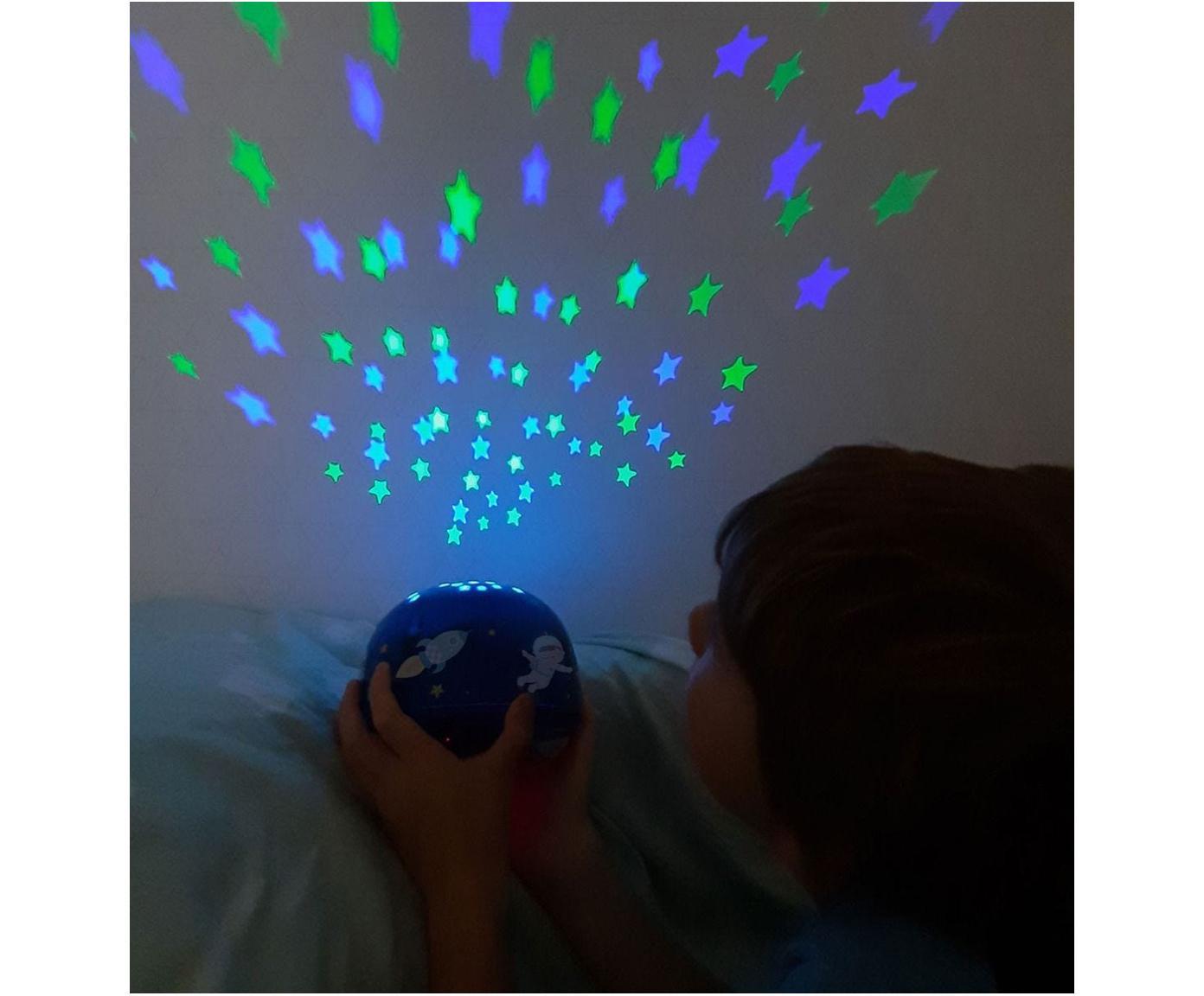 Dekorativní LED svítidlo s časovačem Space, Modrá