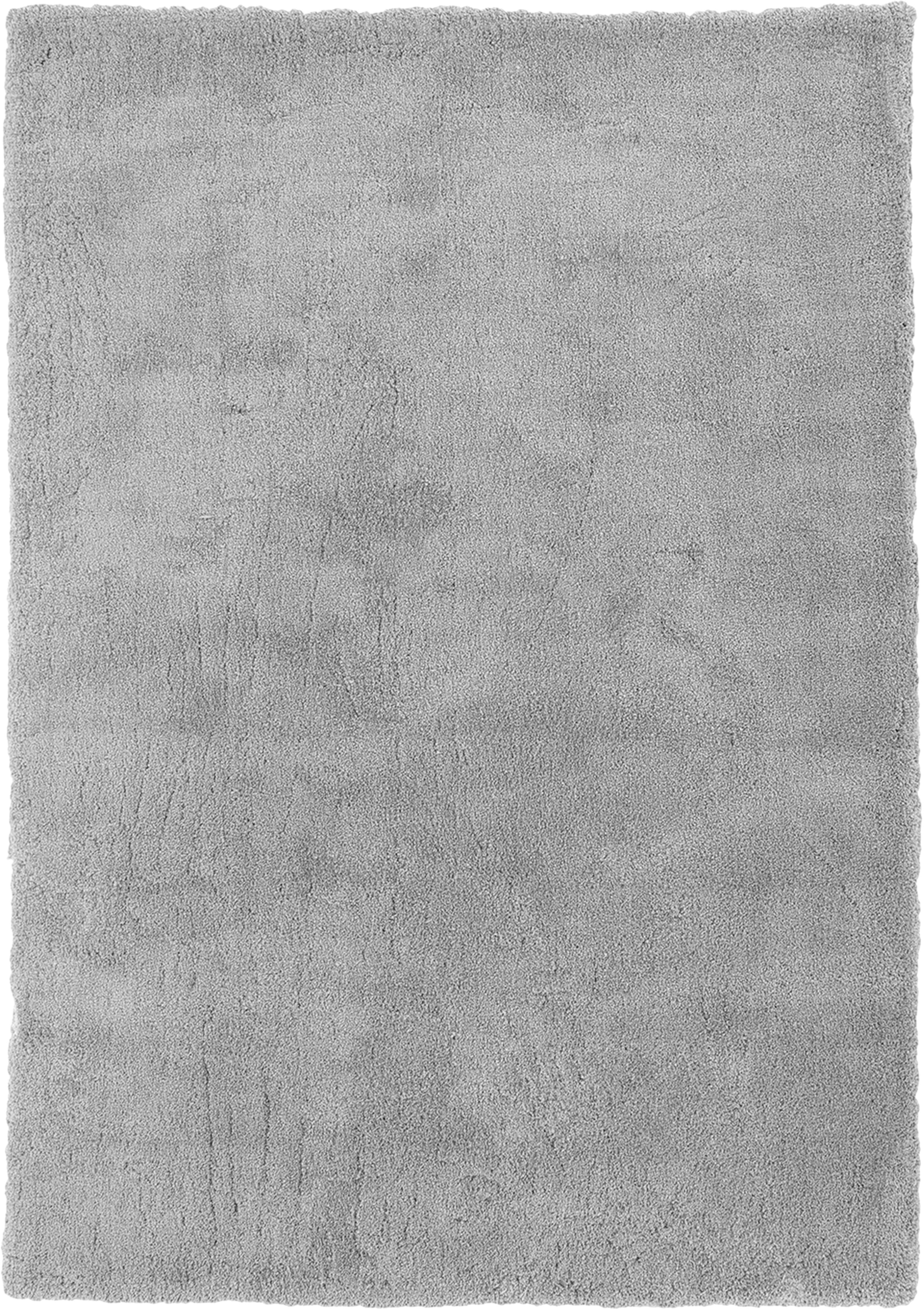 Puszysty dywan z wysokim stosem Leighton, Szary, 200 x 300 cm (Rozmiar L)