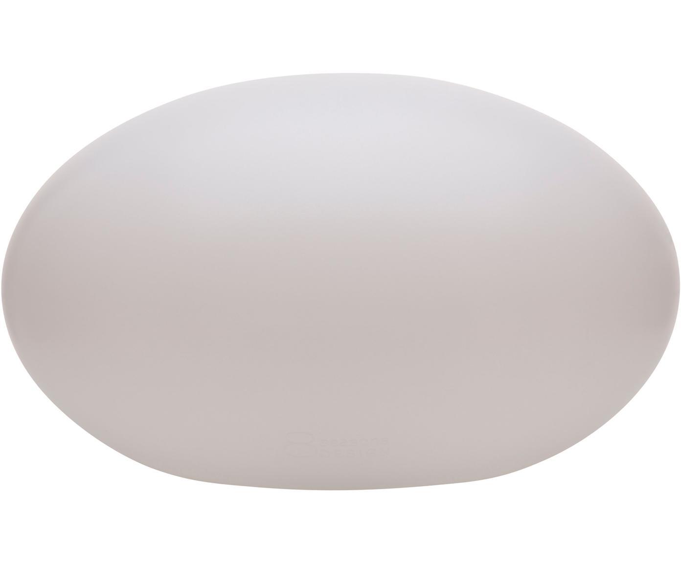 Zewnętrzna lampa Shining Eye, Tworzywo sztuczne, Biały, S 42 x W 24 cm