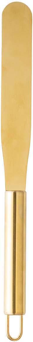 Botermesje Pallet, Gecoat edelstaal, Messingkleurig, L 29 cm