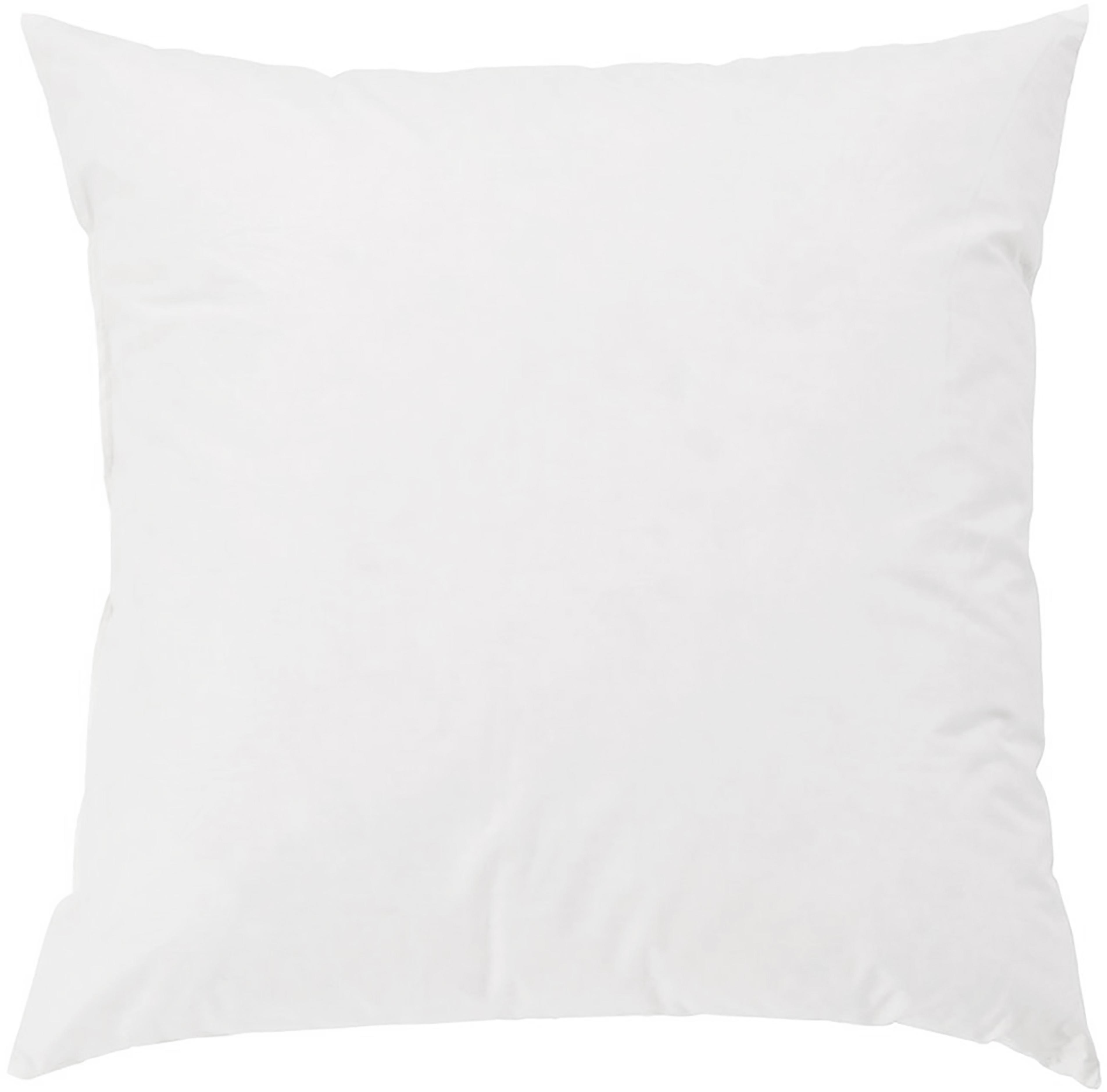 Imbottitura per cuscino Comfort, 40 x 40, imbottitura in piuma, Bianco, Larg. 40 x Lung. 40 cm