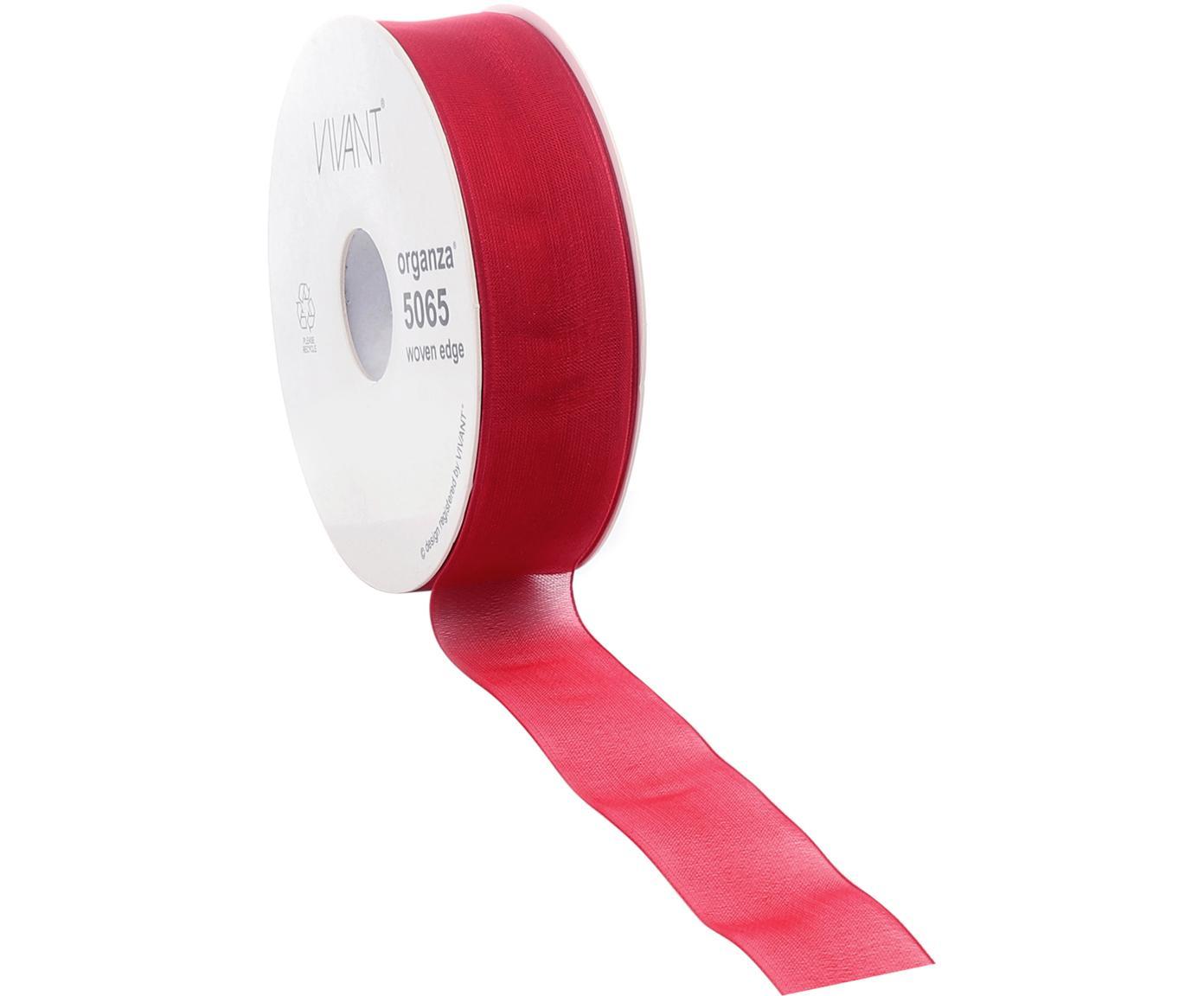 Wstążka prezentowa Origo, Poliester, Czerwony, S 3 x D 5000 cm
