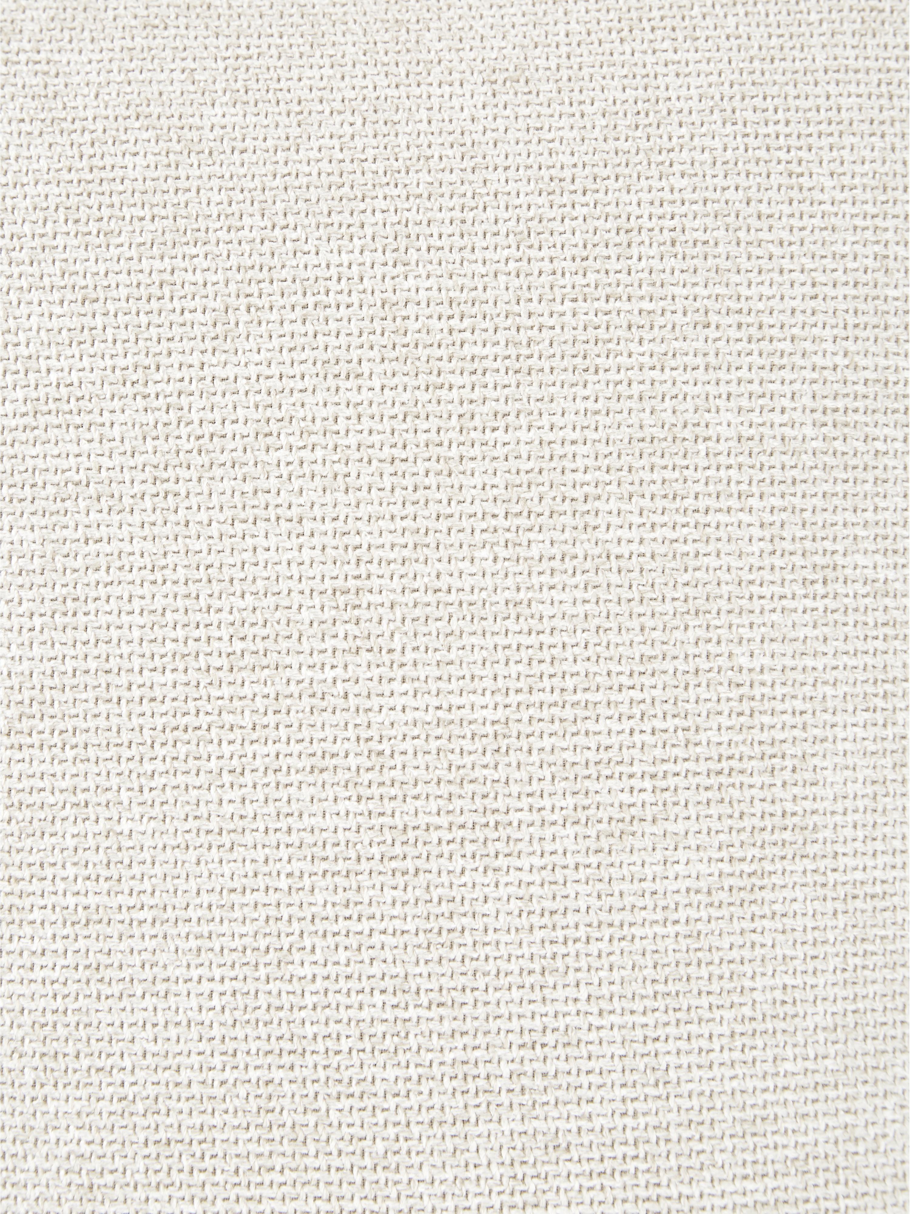 Divano angolare componibile in tessuto beige Lennon, Rivestimento: poliestere 35.000 cicli d, Struttura: legno di pino massiccio, , Piedini: materiale sintetico, Beige, Larg. 326 x Prof. 207 cm
