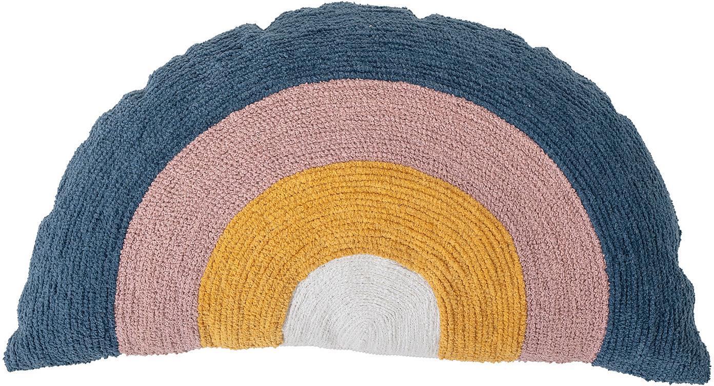 Cuscino con imbottitura arcobaleno Rainbow, Rivestimento: cotone, Bianco, giallo, blu, rosa, Larg. 70 x Lung. 40 cm