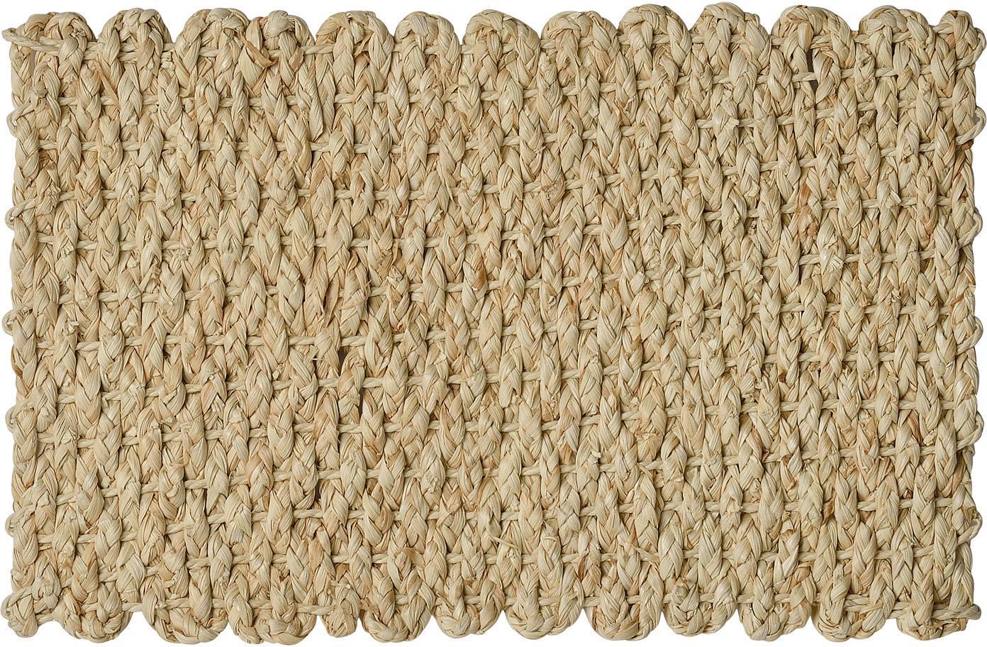 Tischset Cascada aus Maisblättern, 2 Stück, Maisstroh, Beige, 30 x 45 cm