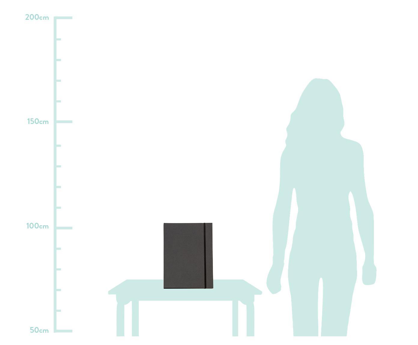 Sammelmappe Paulina, Anthrazit, 23 x 32 cm
