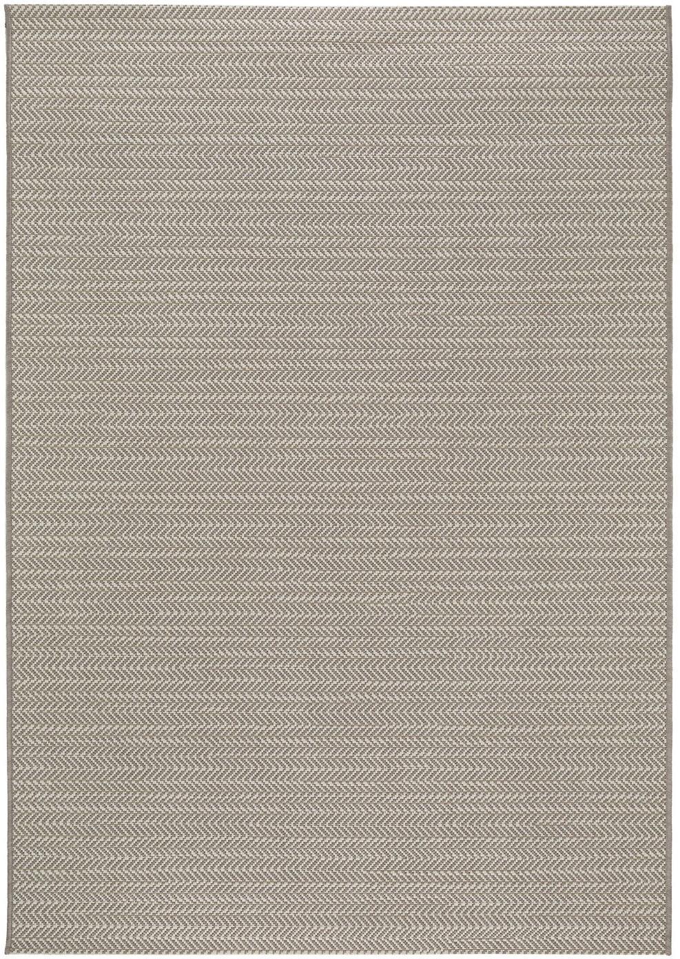 In- & outdoor vloerkleed Metro Needle, Polypropyleen, Beige, B 200 x L 290 cm (maat L)