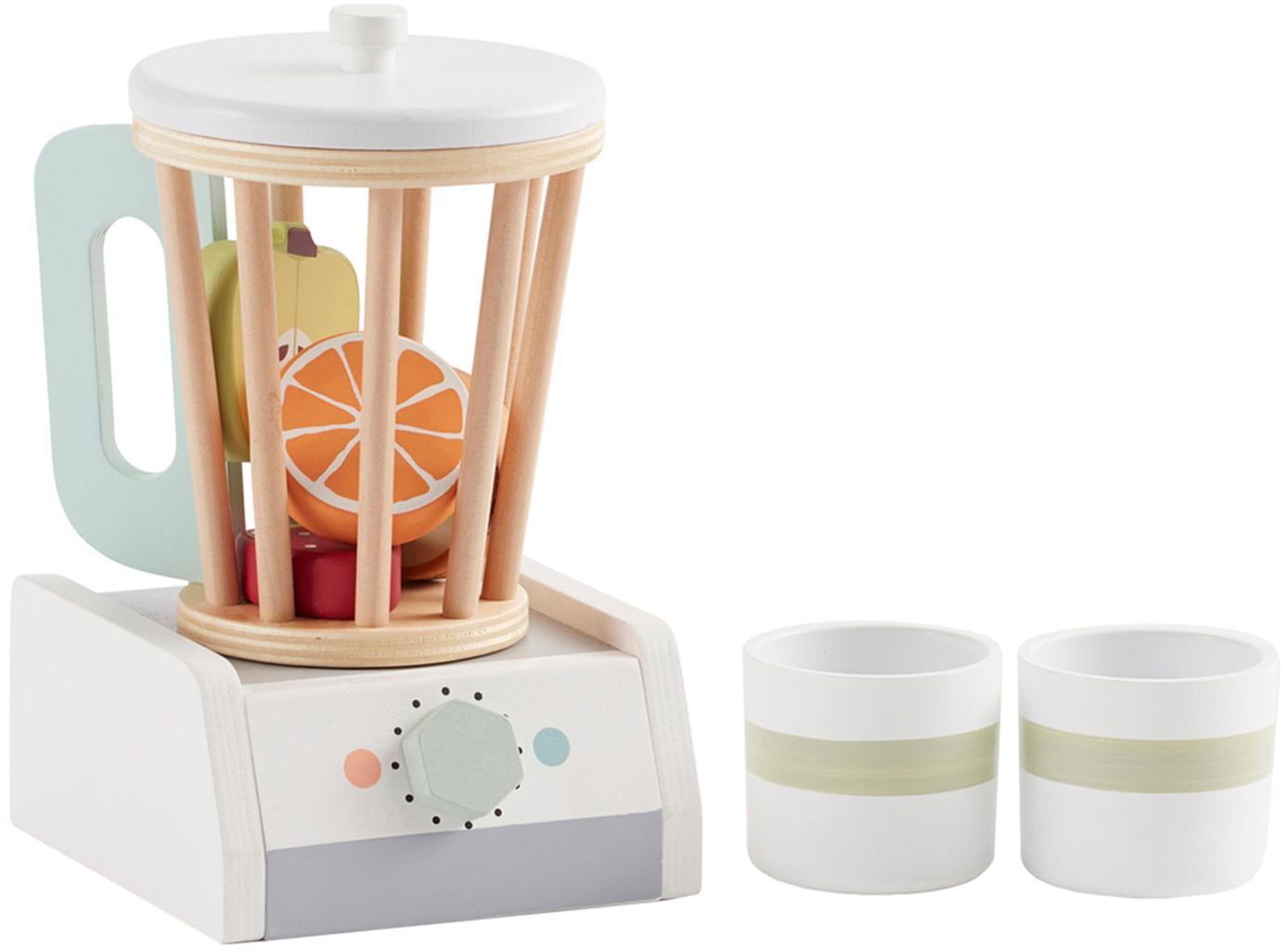 Spielzeug-Set Mixxer, Sperrholz, Mitteldichte Holzfaserplatte (MDF), Schimaholz, Buchenholz, beschichtet, Mehrfarbig, 12 x 20 cm