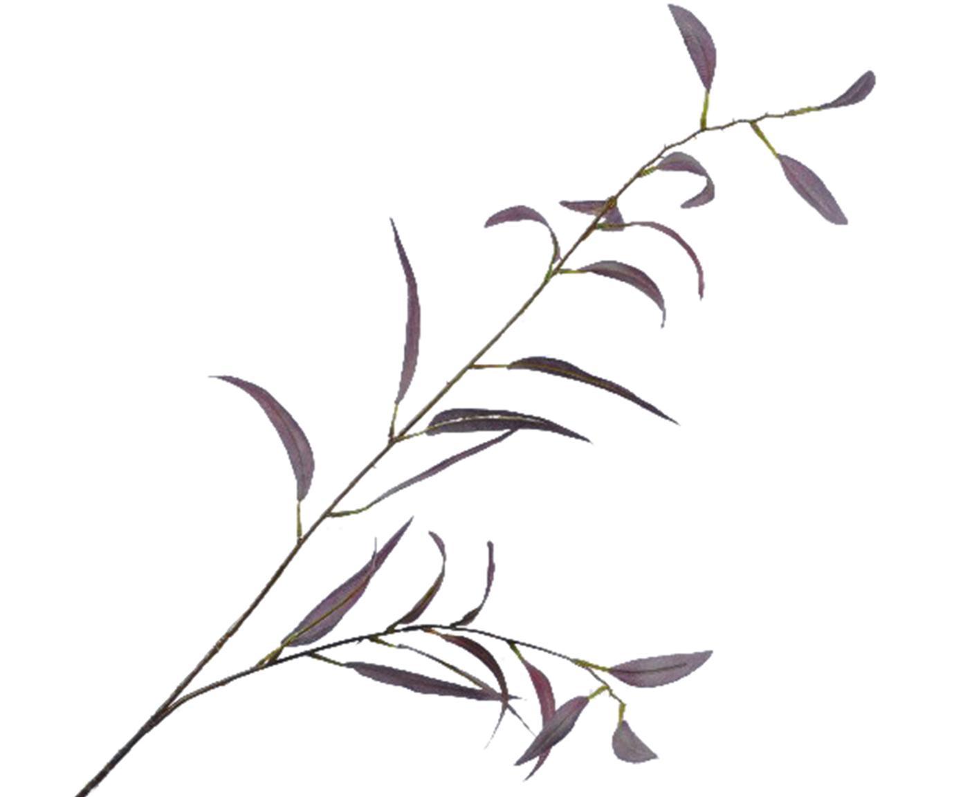 Flor artificial eucalipto Lili, Poliéster, plástico, metal, Lila, verde, L 90 cm