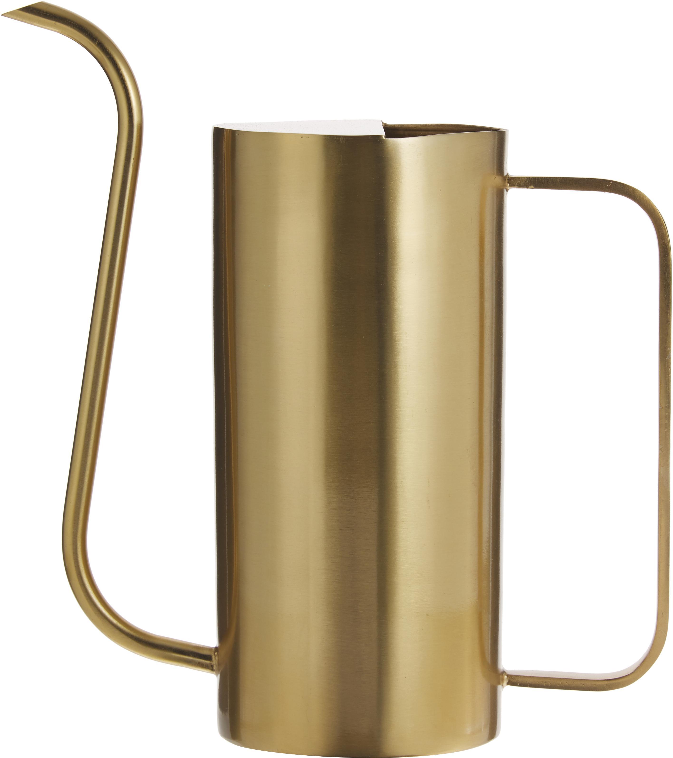 Annaffiatoio Brass, Ferro ottonato, Ottone, Larg. 25 x Alt. 25 cm