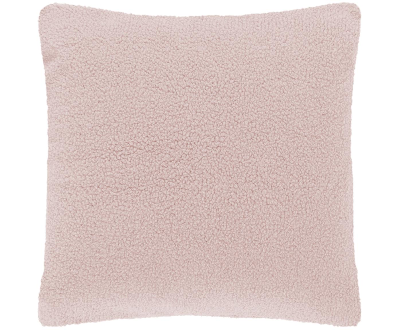 Poszewka na poduszkę Teddy Mille, Blady różowy, S 45 x D 45 cm