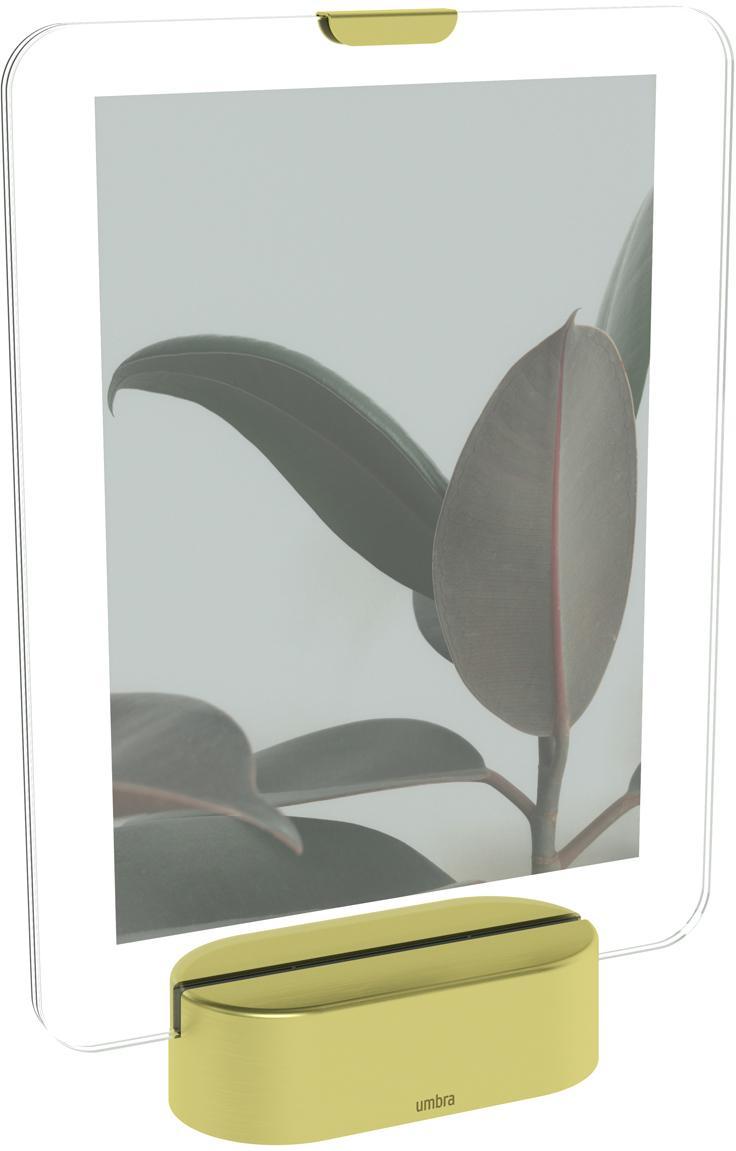 LED  fotolijstje Glo, Messingkleurig, 13 x 18 cm