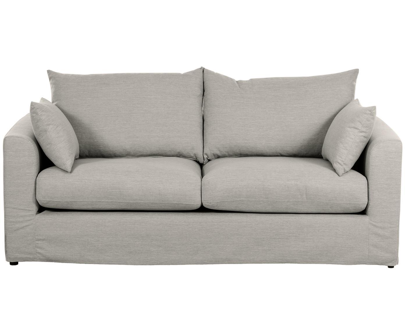 Sofa Zach (2-Sitzer), Bezug: Polypropylen Der hochwert, Füße: Kunststoff, Webstoff Zach, B 191 x T 90 cm
