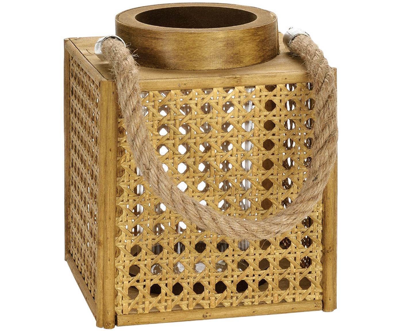 Portacandela Ripoll, Cornice: pannelli di fibra a media, Marrone, Larg. 15 x Alt. 19 cm