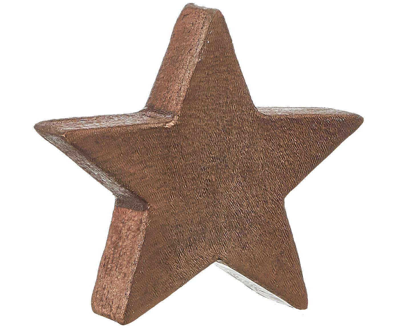 Figura decorativa Mace-Star, Aluminio, recubierto, Marrón, An 15 x Al 15 cm