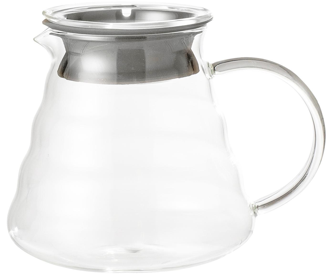 Komplet do zaparzania kawy Gondo, 3 elem., Transparentny, 450 ml