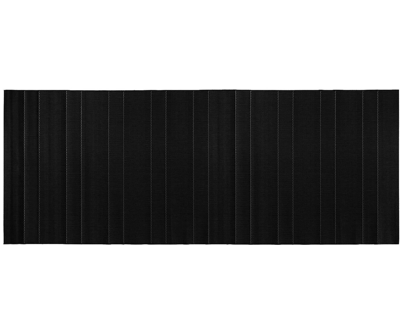 In- & Outdoor-Läufer Sunshine in Schwarz, Schwarz, Creme, 80 x 200 cm