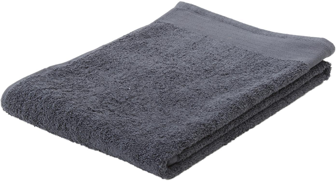 Handtuch Soft Cotton, verschiedene Größen, Anthrazit, Gästehandtuch