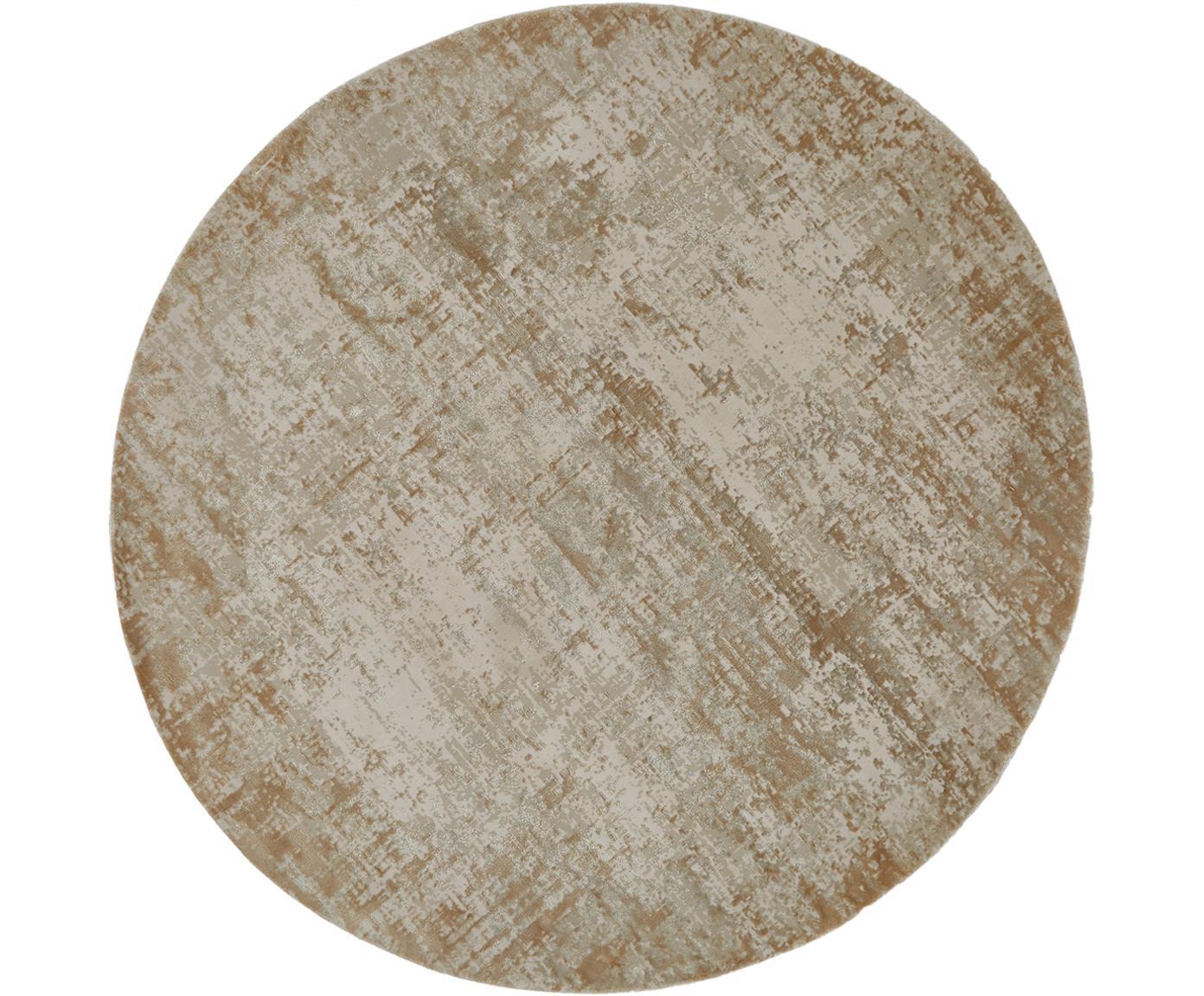 Dywan Cordoba, Odcienie beżowego, ∅ 150 cm (Rozmiar M)