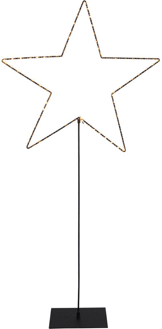 LED Leuchtobjekt Mira, Schwarz, 50 x 100 cm