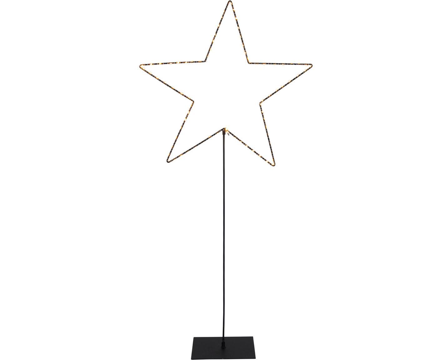 Oggetto luminoso a LED Mira, Nero, Larg. 50 x Alt. 100 cm