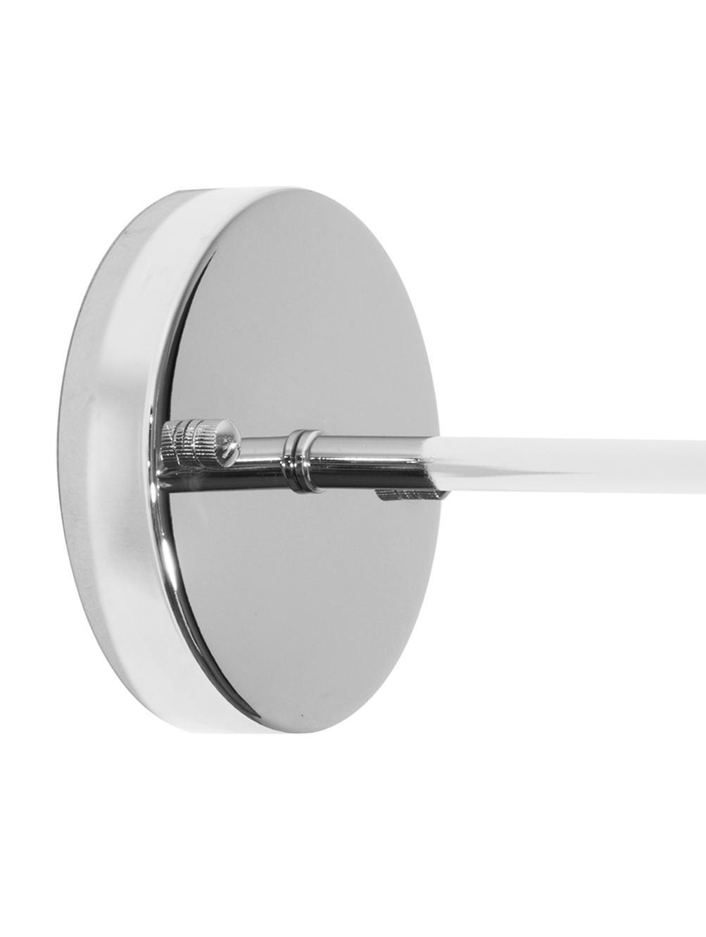 Applique style industriel New York Loft nº2, Chrome, transparent