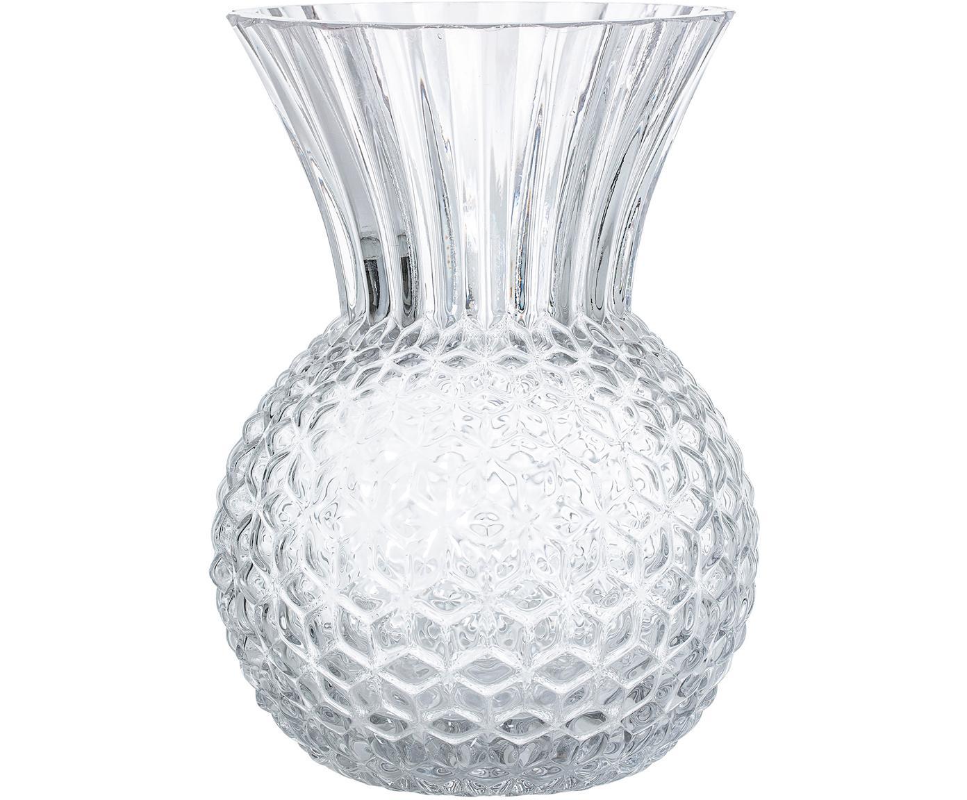 Wazon ze szkła Clear, Szkło, Transparentny, Ø 13 cm