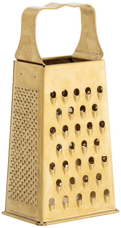 Grattugia dorata Roland, Acciaio inossidabile rivestito, Ottonato, Larg. 9 x Alt. 19 cm