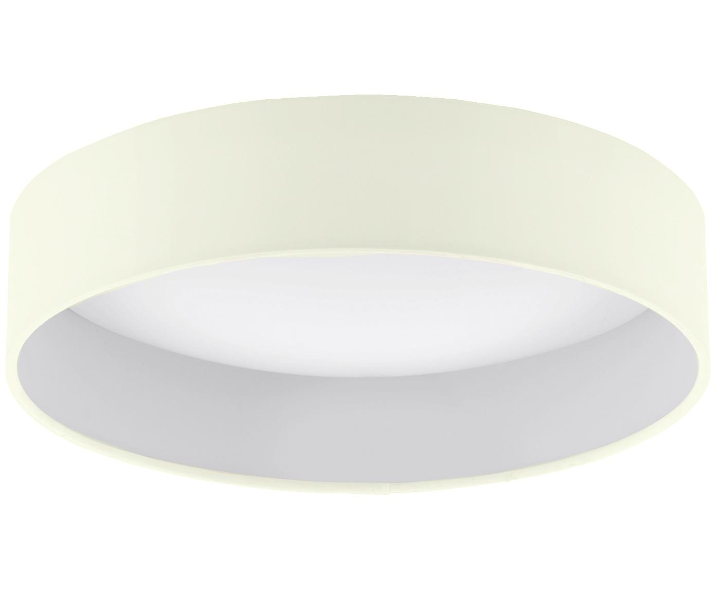 LED plafondlamp Paloma, Crèmekleurig, Ø 41 x H 10 cm