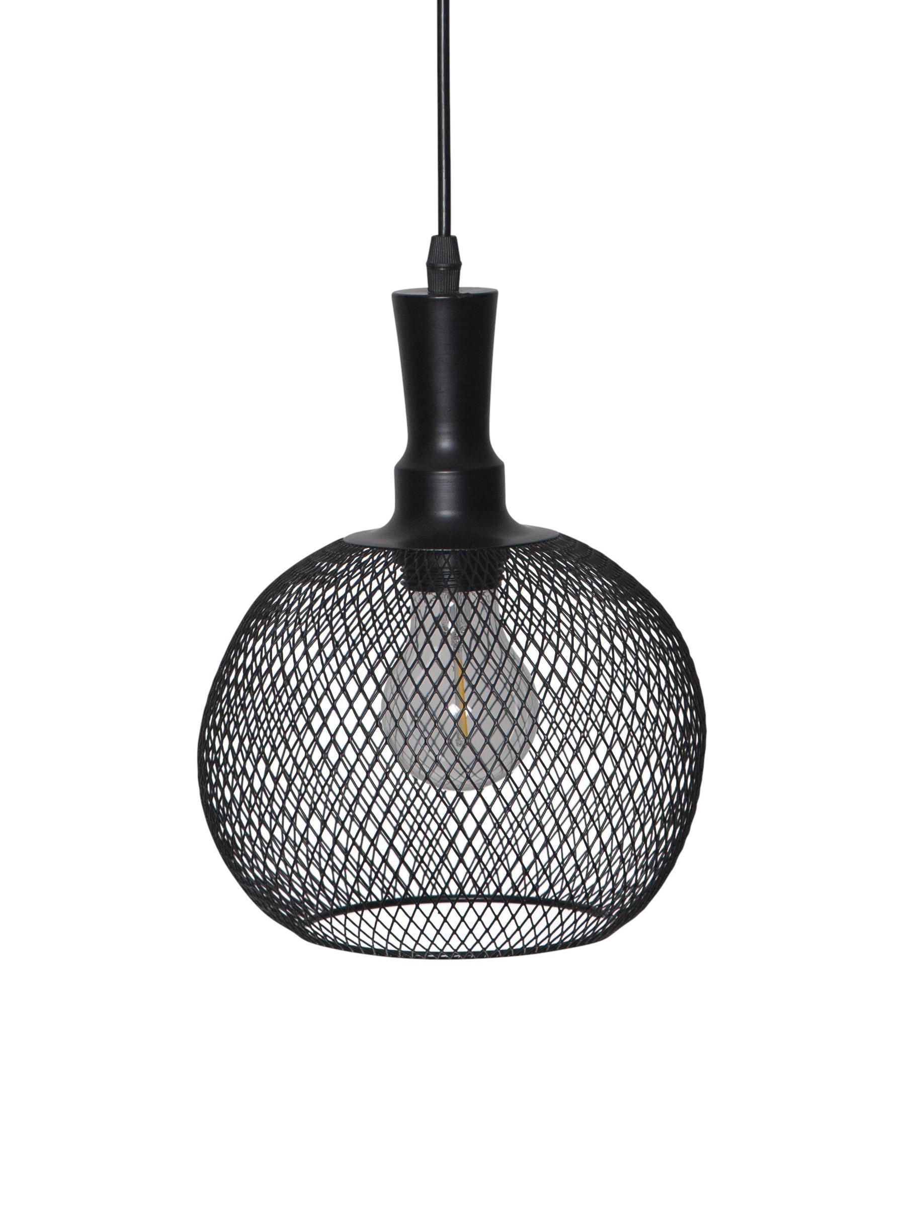 Lámpara solar LED Sunlight, Negro, Ø 19 x Al 24 cm
