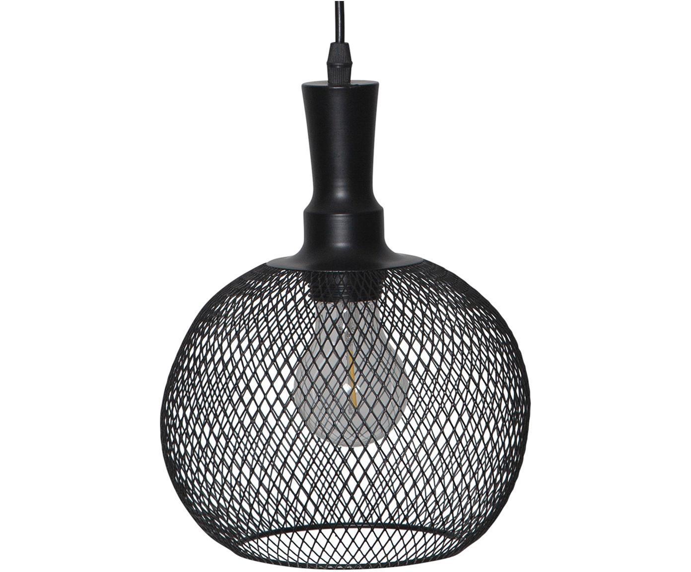 Solar outdoor LED lamp Sunlight, Metall, Kunststoff, Zwart, Ø 19 x H 24 cm