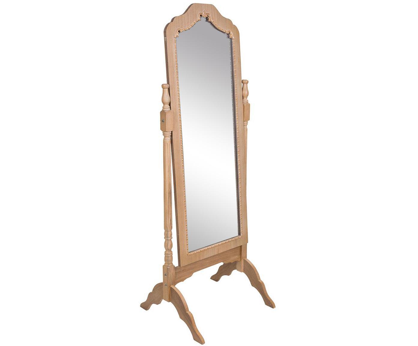 Espejo de pie Alba, Espejo: cristal, Beige, An 59 x Al 163 cm