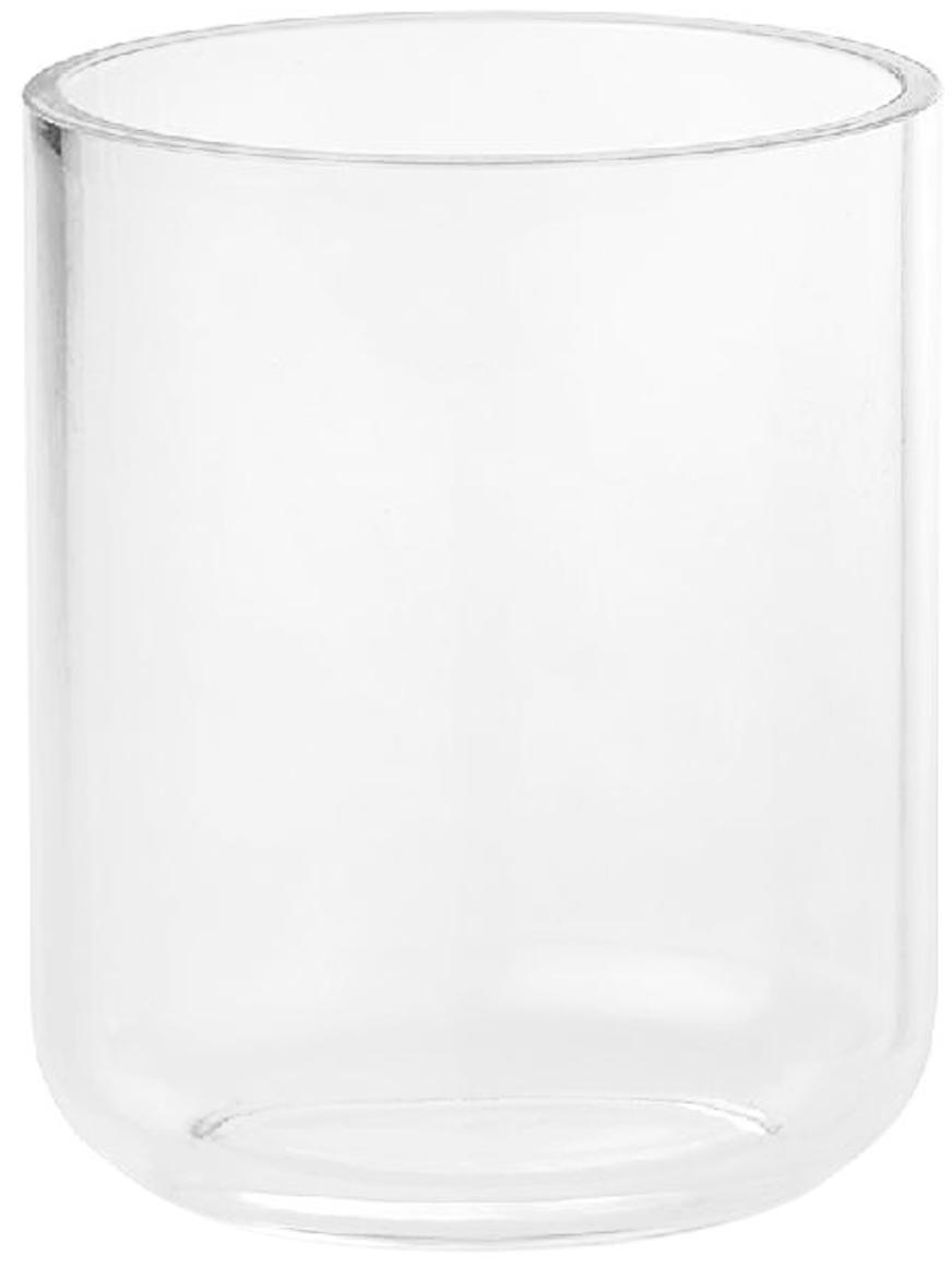 Tandenborstelbeker Delan van acrylglas, Acrylglas, Transparant, Ø 9 x H 12 cm