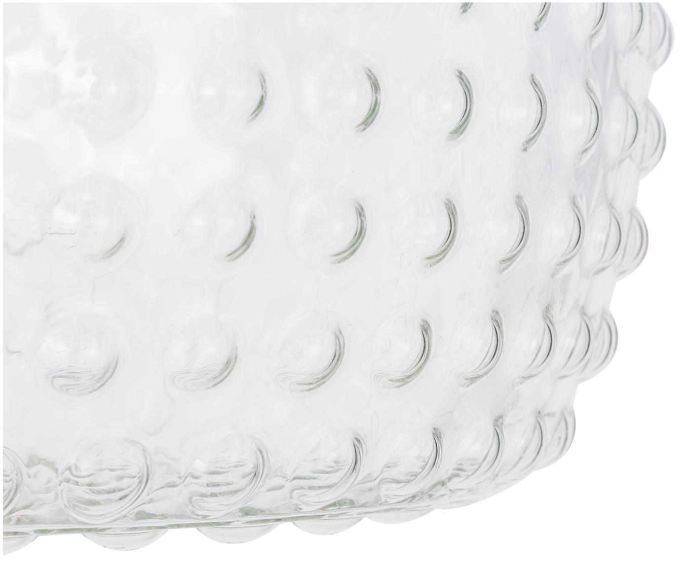 Lampa sufitowa ze szkła Spring, Odcienie złotego, transparentny, Ø 40 x W 27 cm