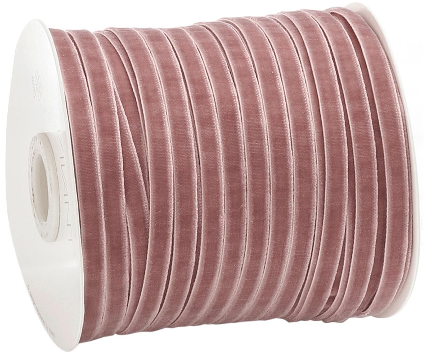 Wstążka prezentowa Velveta, Nylon, Różowy, S 0,6 x D 10000 cm