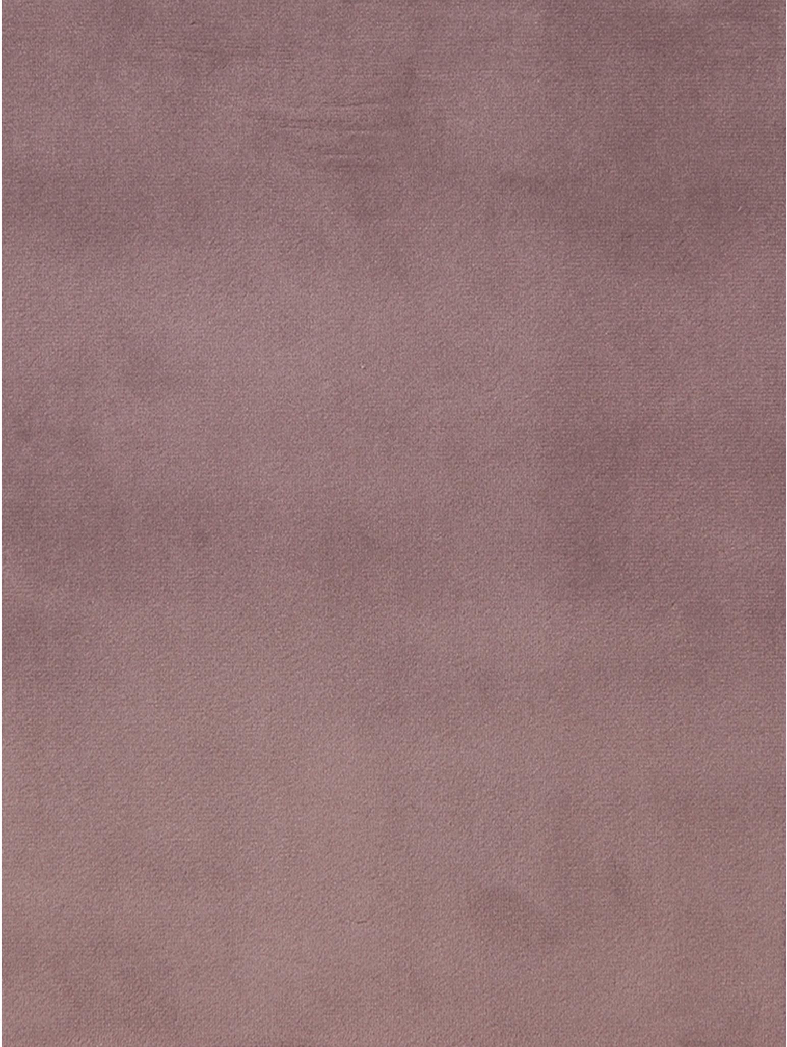 Silla de terciopelo Emilia, Tapizado: poliéster (terciopelo), Patas: madera de roble aceitado , Terciopelo rosa, patas roble, An 57 x F 59 cm