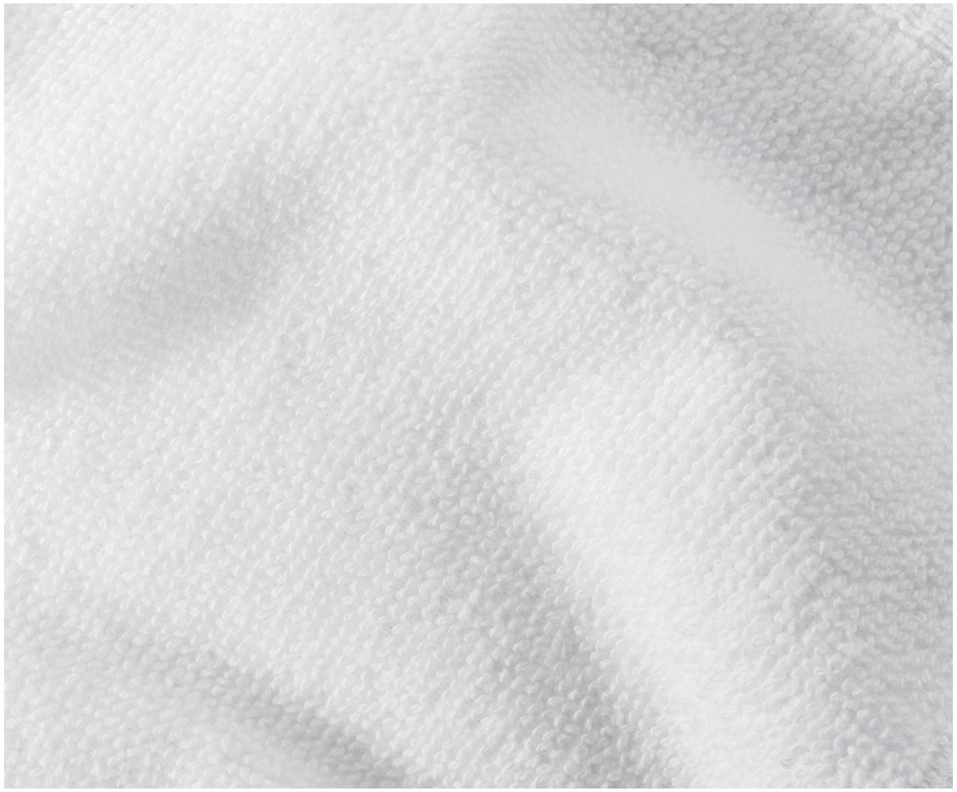 Set de toallas Premium, 3pzas., 100%algodón Gramaje superior 600g/m², Blanco, Tamaños diferentes