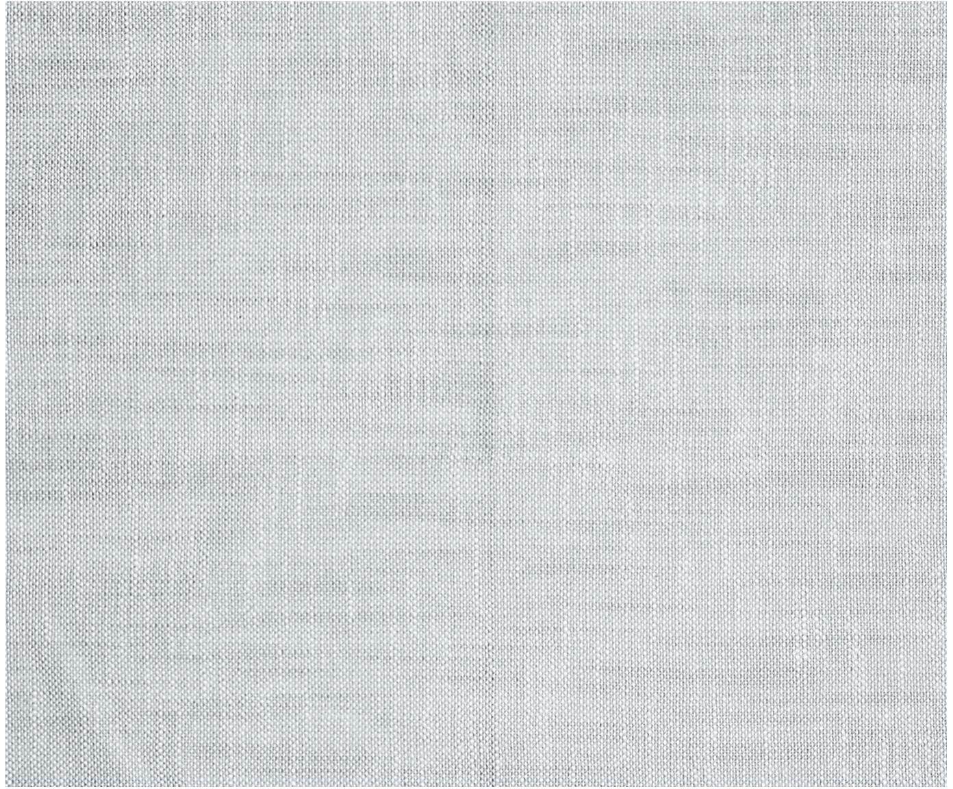 Stoffen servetten Tonnika, 4 stuks, Katoen, Blauwgrijs, 45 x 45 cm
