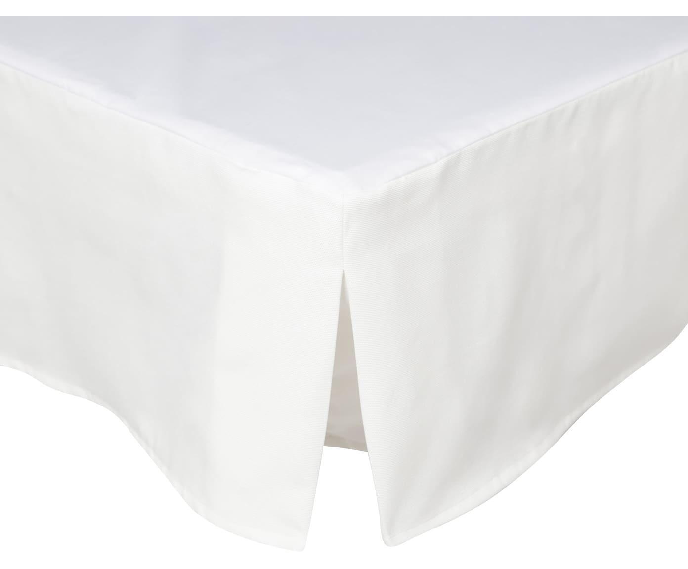 Cubrecanapé Panama, Blanco, Cama 80 cm (80 x 200 cm)