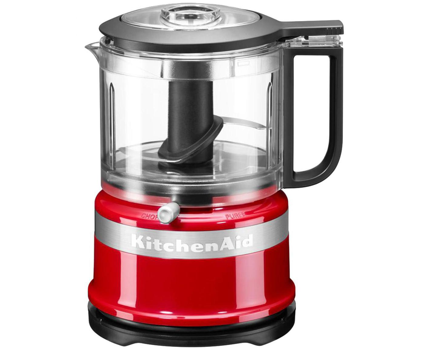 Mixer-Mini food processor KitchenAid Mini, Rosso, lucido, P 18 x A 22 cm