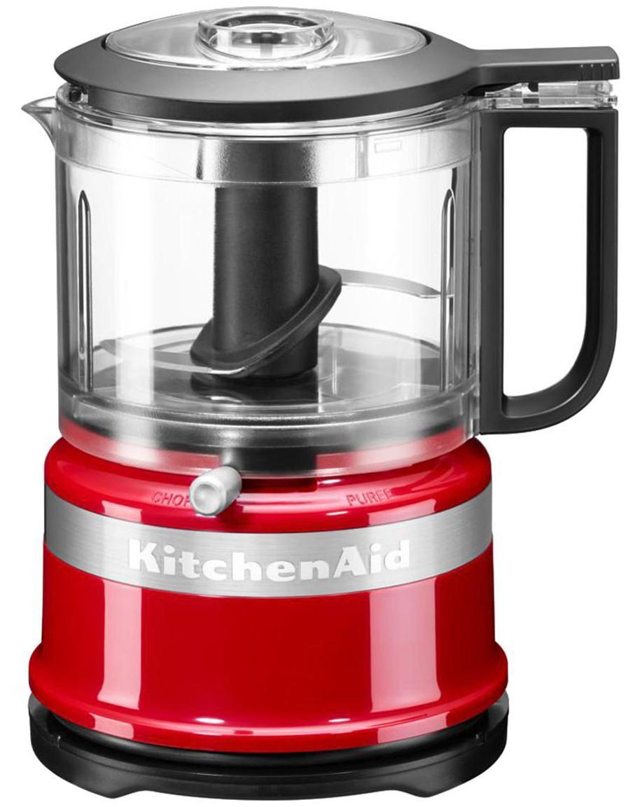 Food Processor KitchenAid Mini, Gehäuse: Kunststoff., Rot, glänzend, 18 x 22 cm
