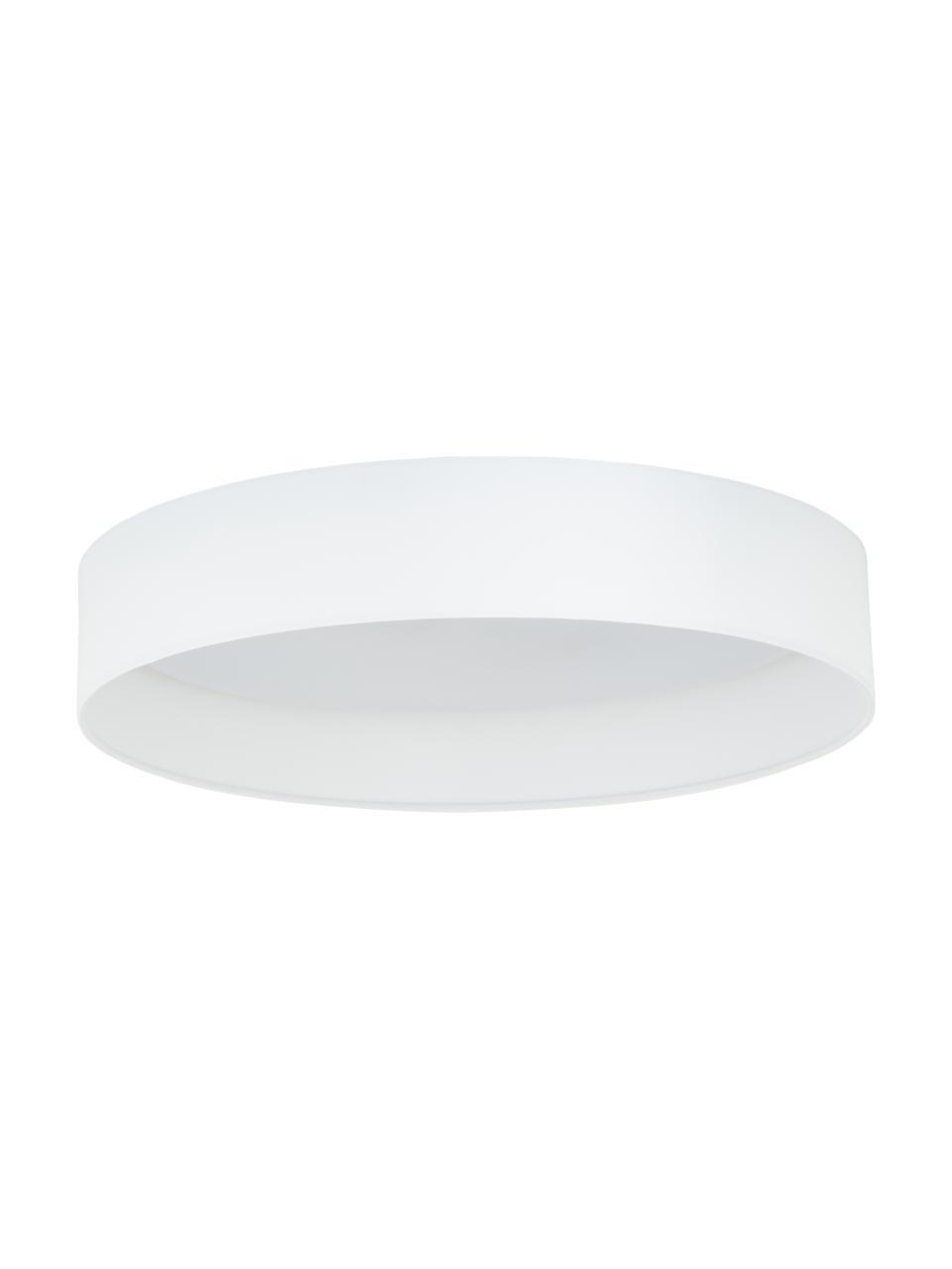 LED plafondlamp Helen in wit, Diffuser: kunststof, Wit, Ø 52 x H 11 cm