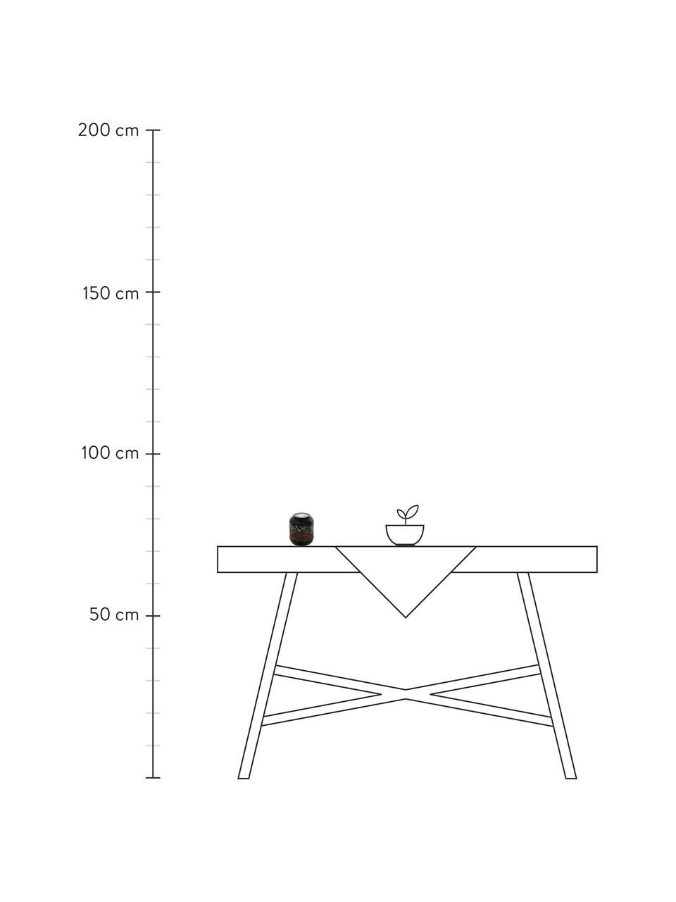 Solar Außentischlampe Eniny, Leuchte: Stahl, beschichtet, Schwarz, Ø 12 x H 13 cm