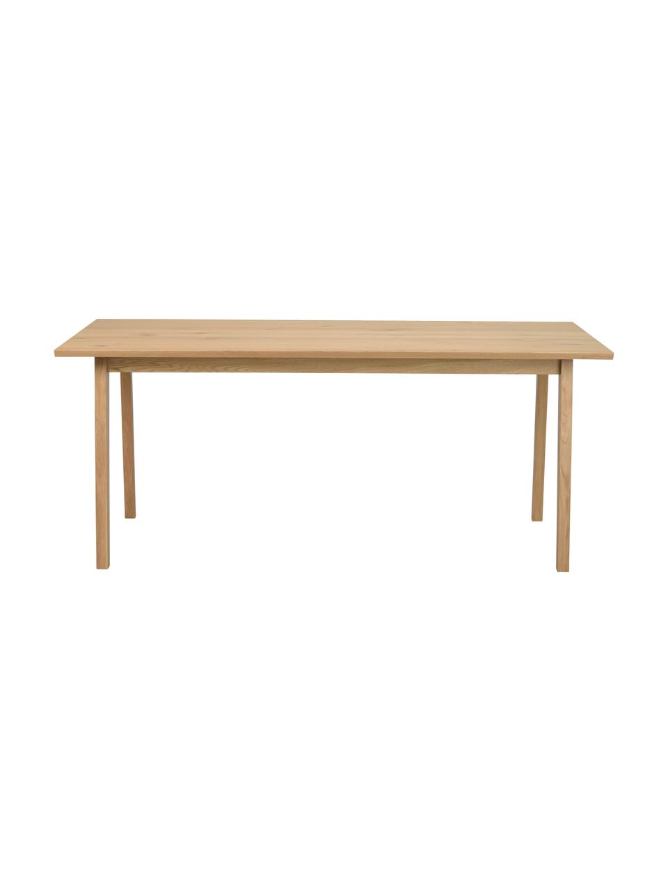 Stół do jadalni Melfort, Nogi: lite drewno brzozowe z fo, Jasny brązowy, S 180 x G 90 cm