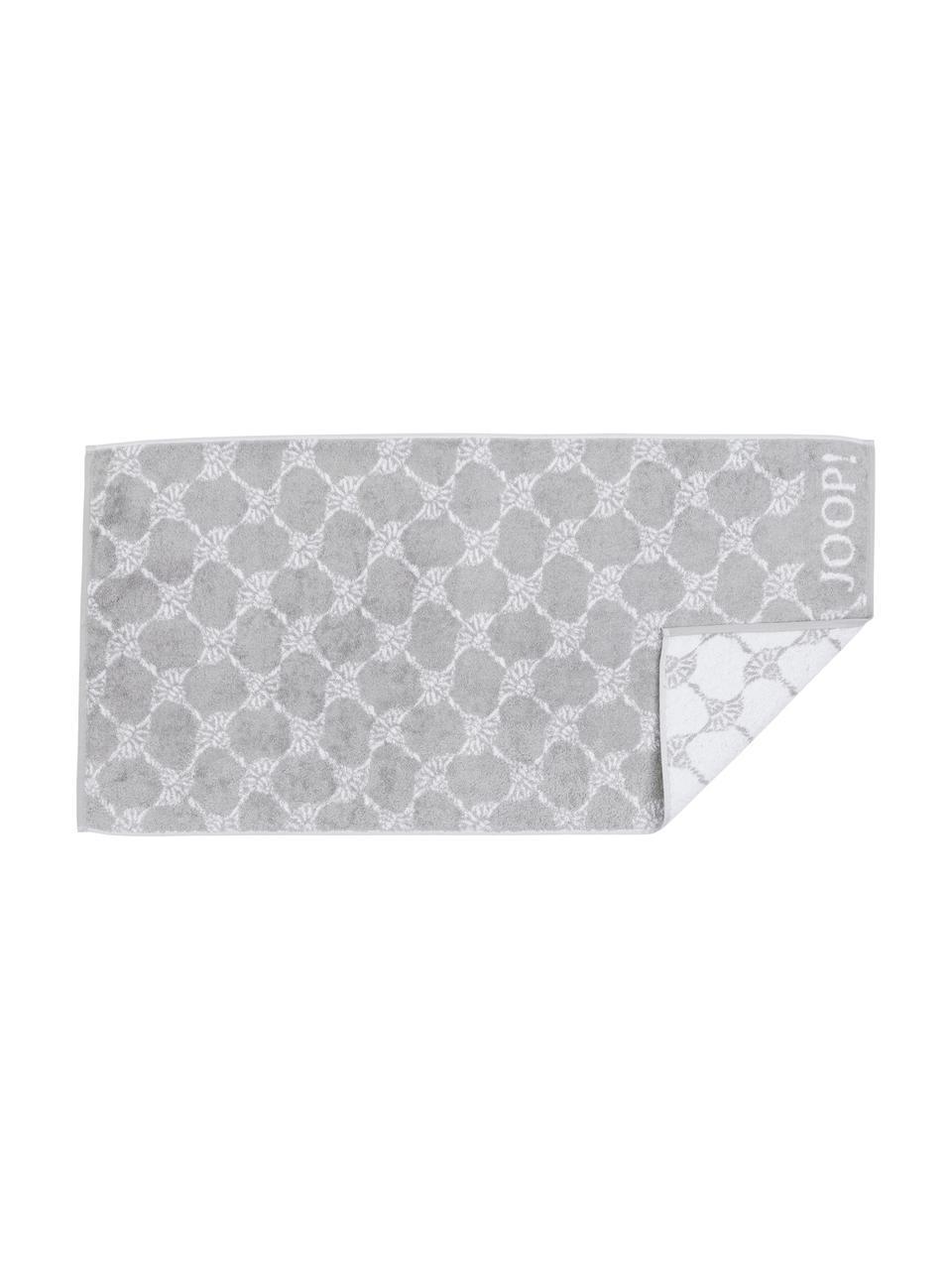 Handtuch Classic Cornflower in verschiedenen Größen, mit Kornblumen-Print, Silbergrau, Weiß, Handtuch