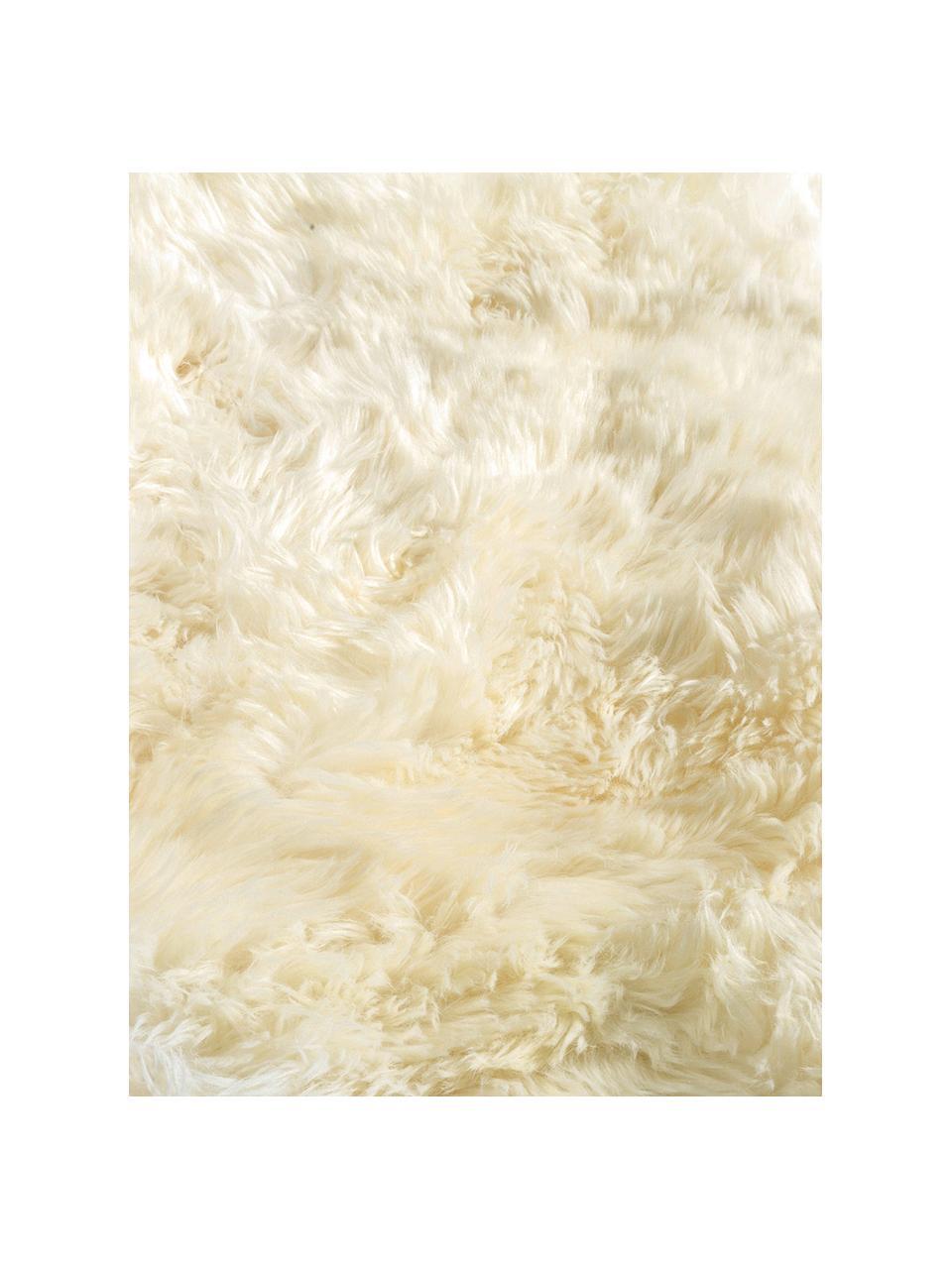 Dywan ze skóry owczej Reese, Skóra owcza, Kremowy, S 152 x D 243 cm (Rozmiar S)